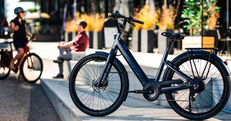 Vélo électrique pliant Voltagreen Lavil British BRIGHTON Edition